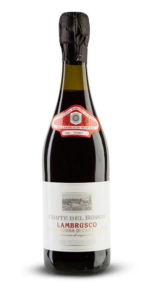 Lambrusco Grasparossa Secco - DOC Vino Frizzante