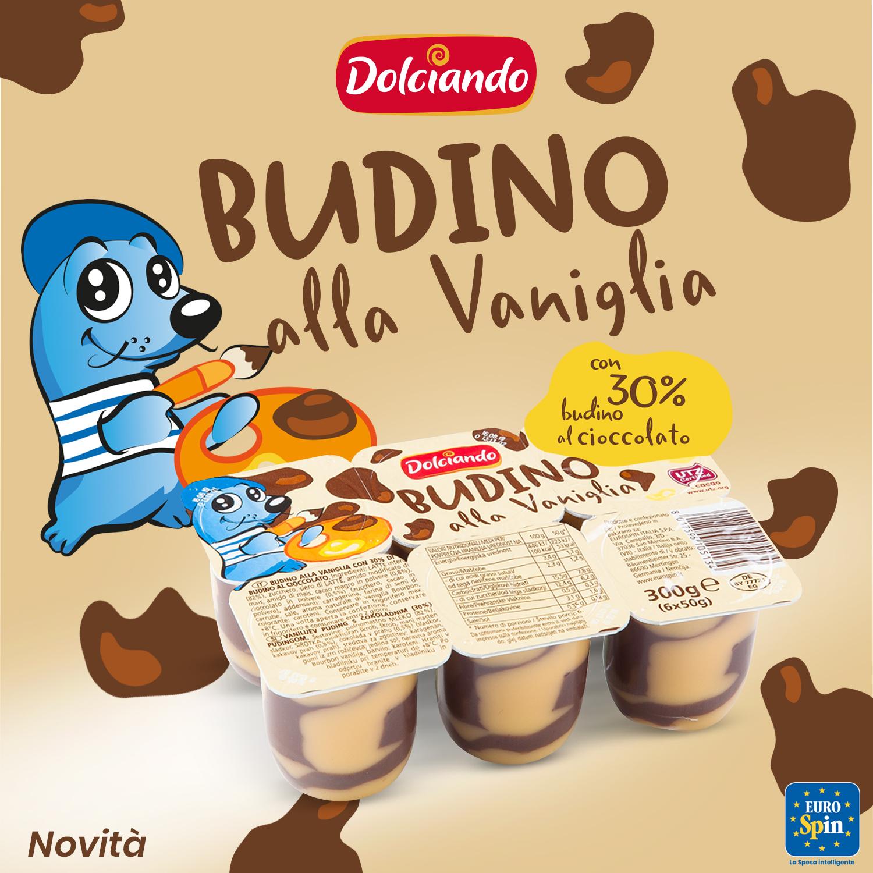 Budino alla vaniglia e cioccolato