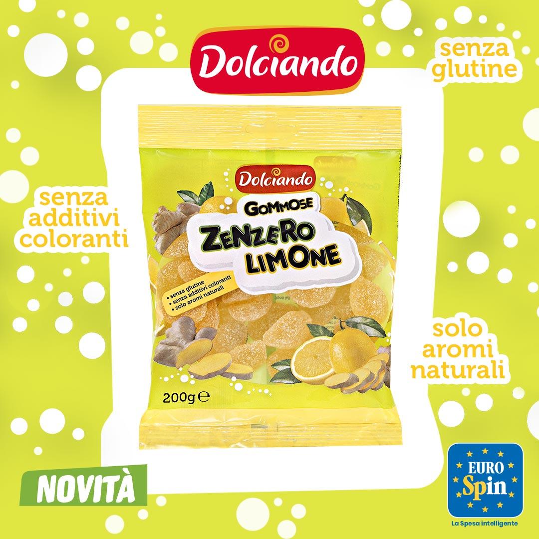 Gommose zenzero limone
