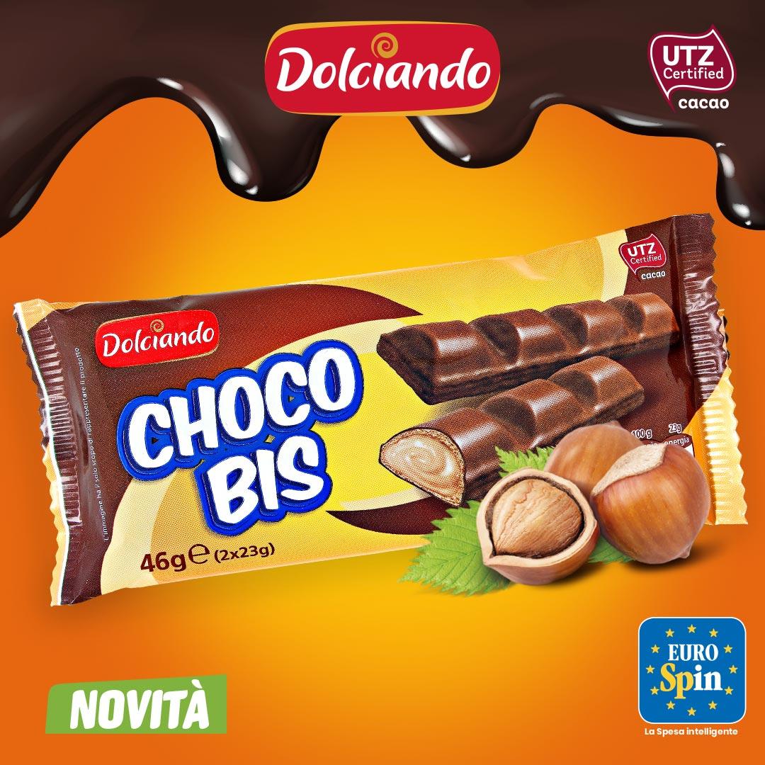 Snack Wafer Dolciando ChocoBis