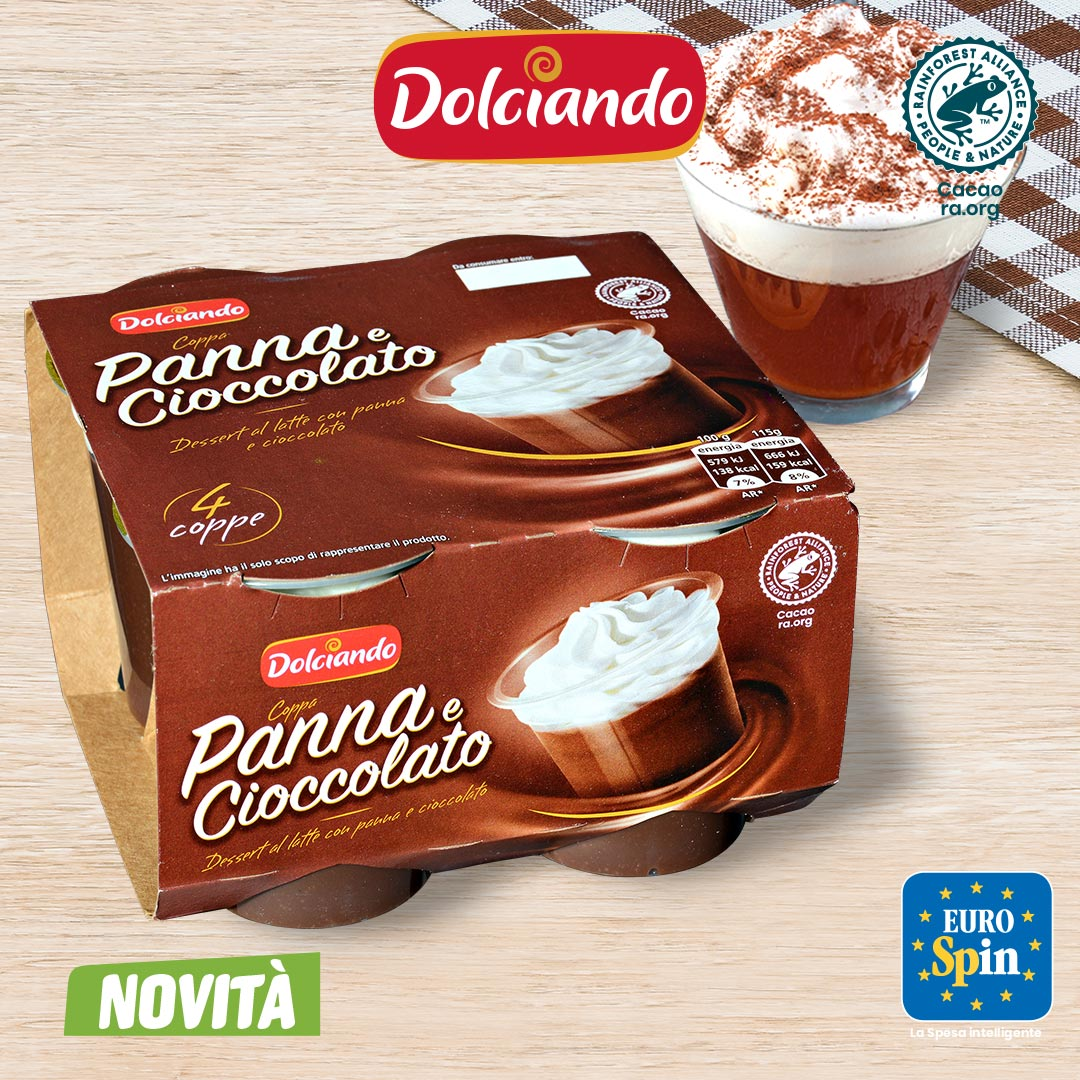 Coppa Panna Cioccolato Dolciando