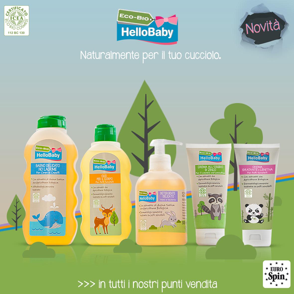 Detergenti e Creme Bio per i più Piccoli