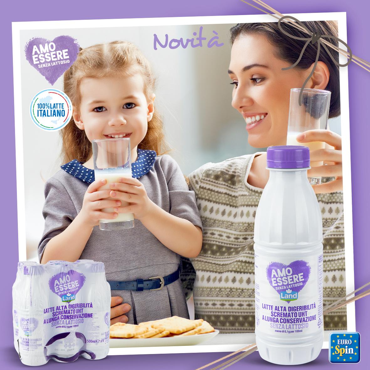 Latte scremato ad alta digeribilità UHT