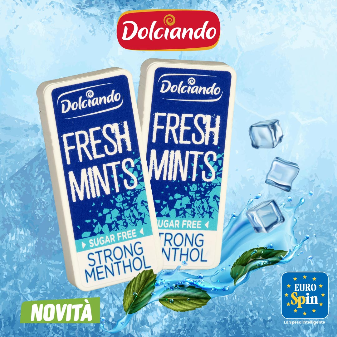Mentine Fresh Mints Dolciando Strong Menthol