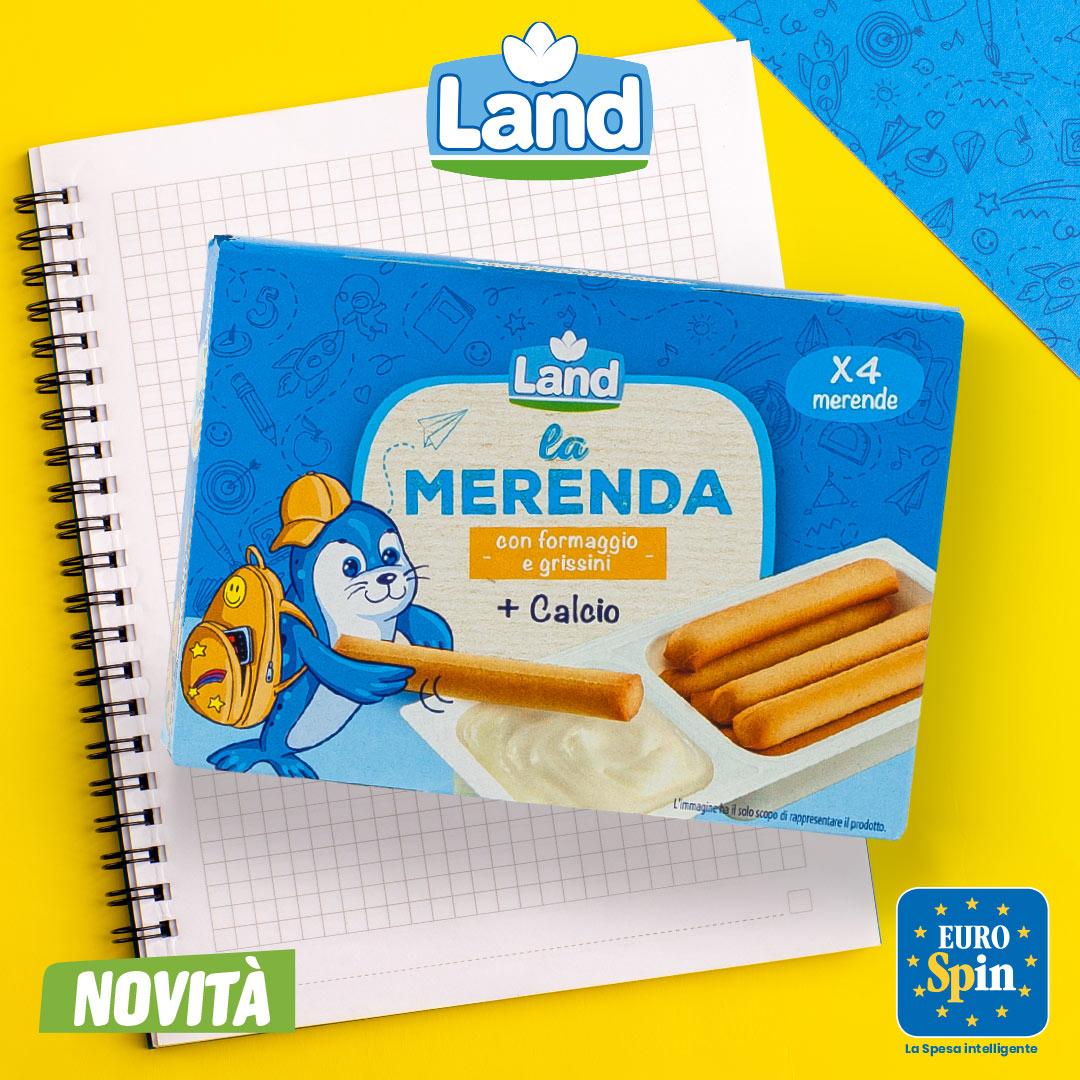 La MERENDA Land con formaggio e grissini