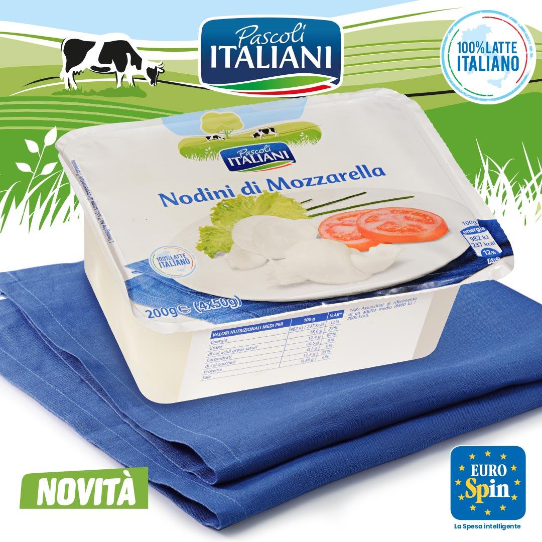 Nodini di Mozzarella Pascoli Italiani