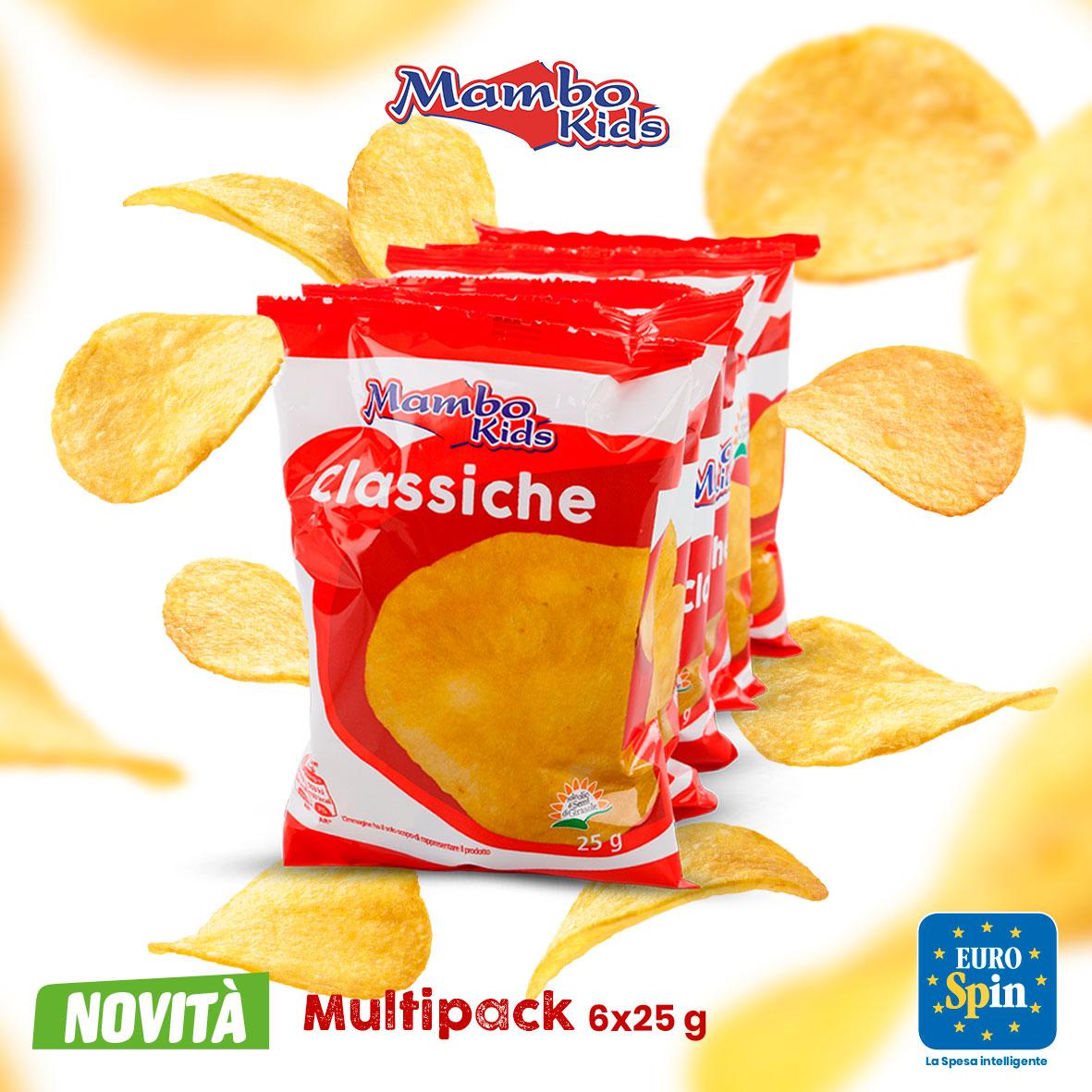 Patatine Classiche Multipack