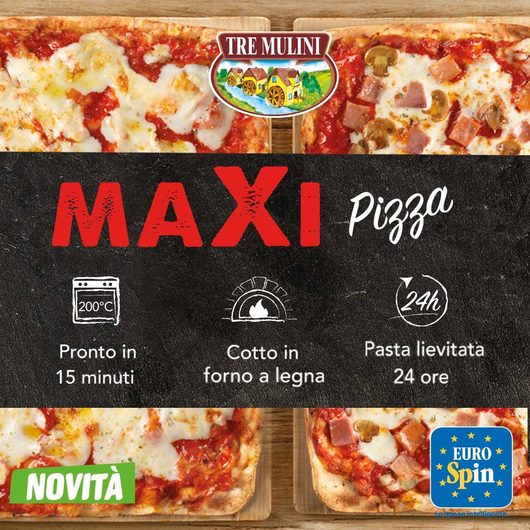Pizza Maxi Tre Mulini