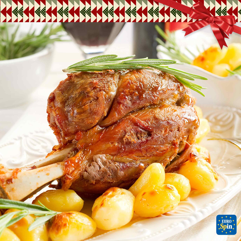 Stinco di maiale con patate e Chianti Classico DOCG