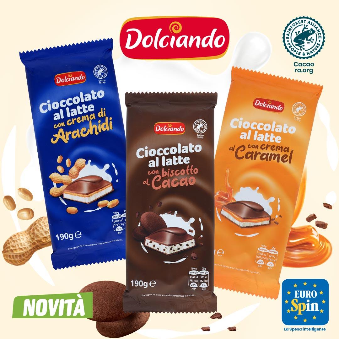 Cioccolato al latte Dolciando