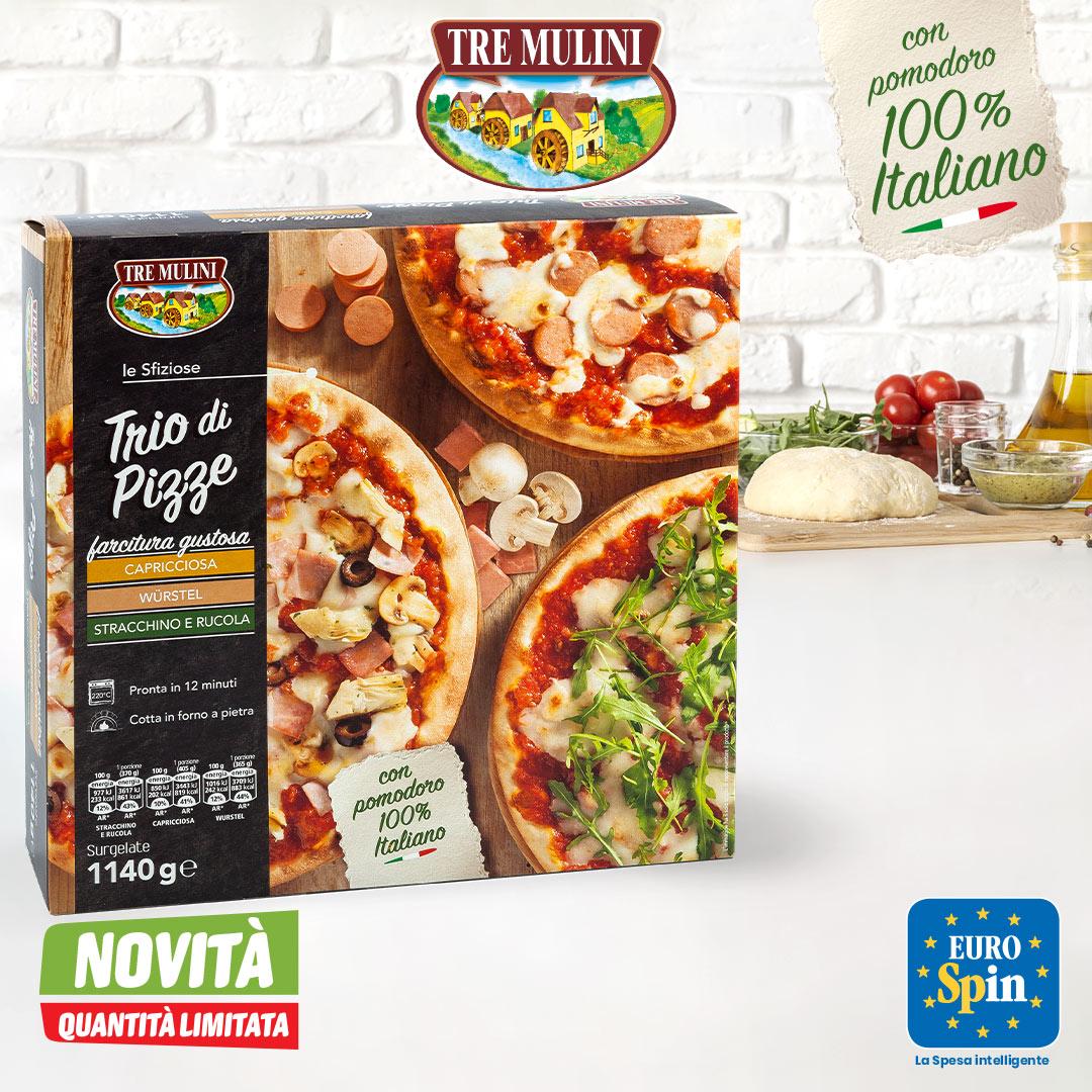 Trio Pizze Tre Mulini