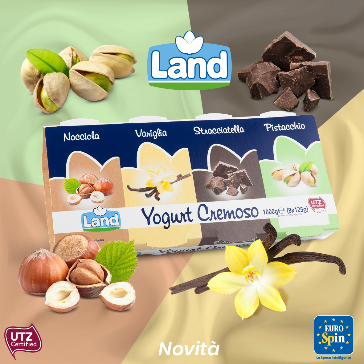 Yogurt cremoso Land