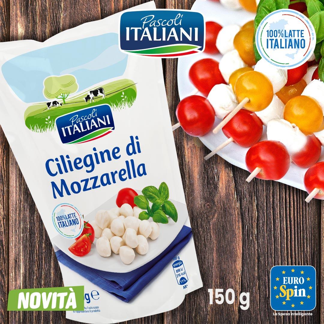Ciliegine di mozzarella Pascoli Italiani